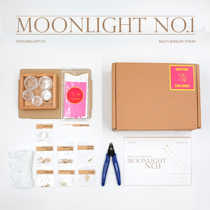 [Art Kit] DIY Moonlight No.1 Multi Jewelry Strap 아트키트 DIY 문라이트1번 만들기