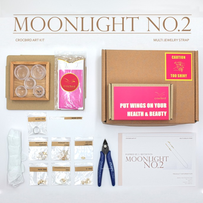 [Art Kit] DIY Moonlight No.2 Multi Jewelry Strap 아트키트 DIY 문라이트2번 만들기