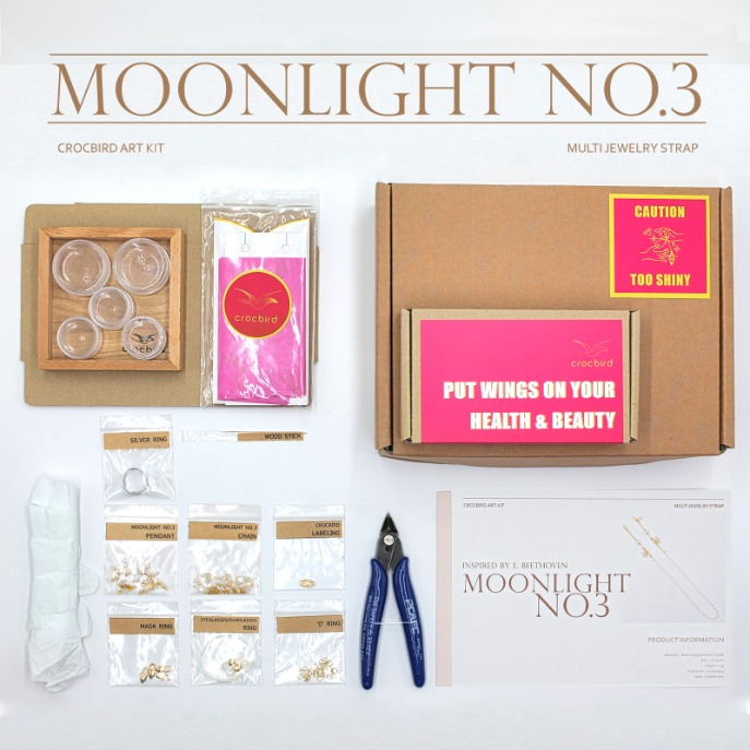 [Art Kit] DIY Moonlight No.3 Multi Jewelry Strap 아트키트 DIY 문라이트3번 만들기